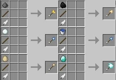 Стрелы с Эффектами Minecraft