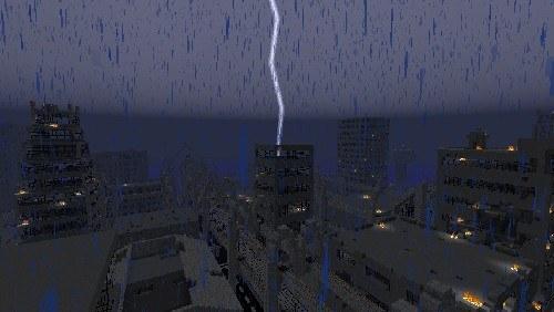 Скрин №2 карта для майнкрафт 1.5.2 апокалипсис