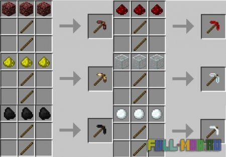 More Pickaxes